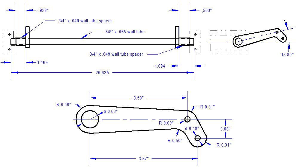 control rod drawing